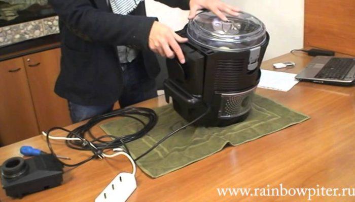 Пылесос Rainbow (Рейнбоу). Что делать если упала мощность? Как поменять Hepa фильтр?